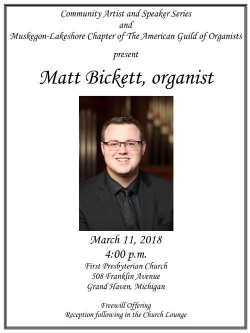 Matt Bickett Poster